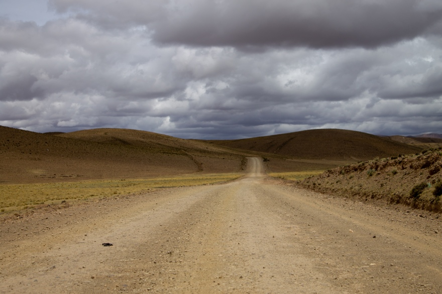 Road in SW Bolivia