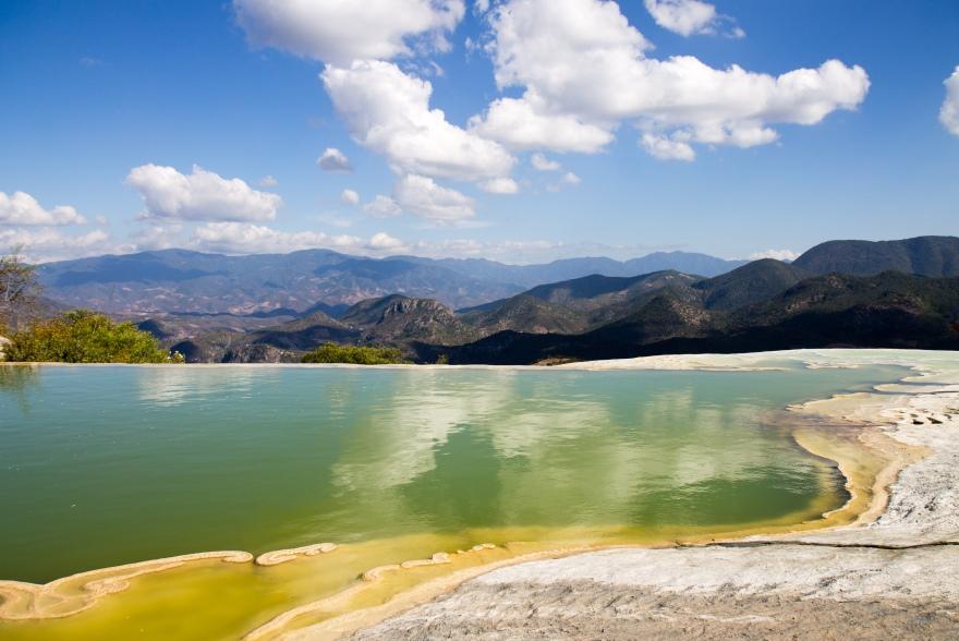 Green Pool, Hierve el Agua
