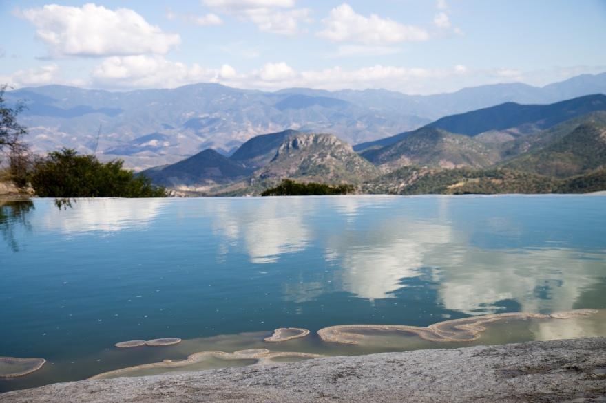 Blue Pool, Hierve el Agua
