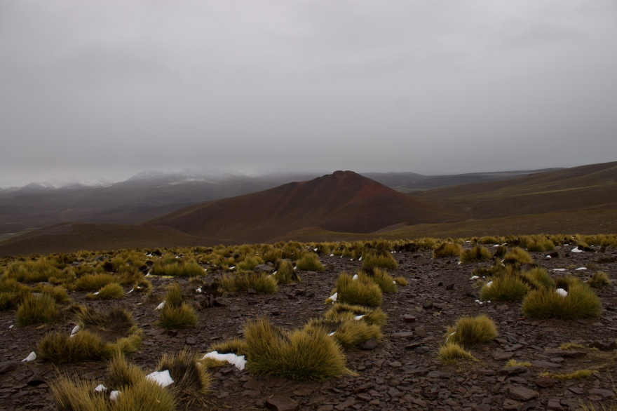 A lonely mountain, SW Bolivia