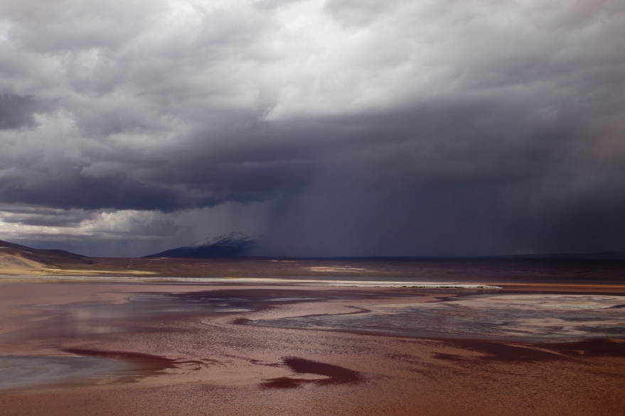 Storm over Laguna Colorada