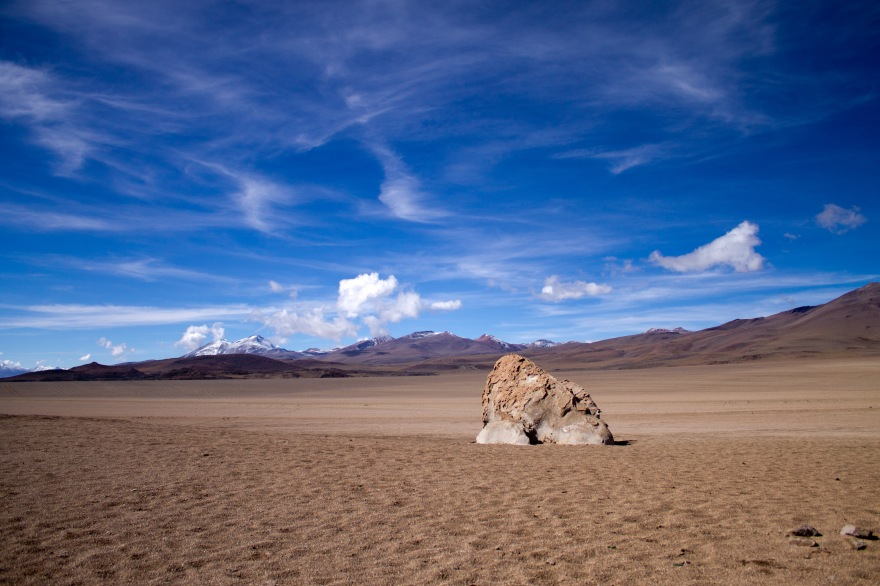 Lonely rock, SW Bolivia