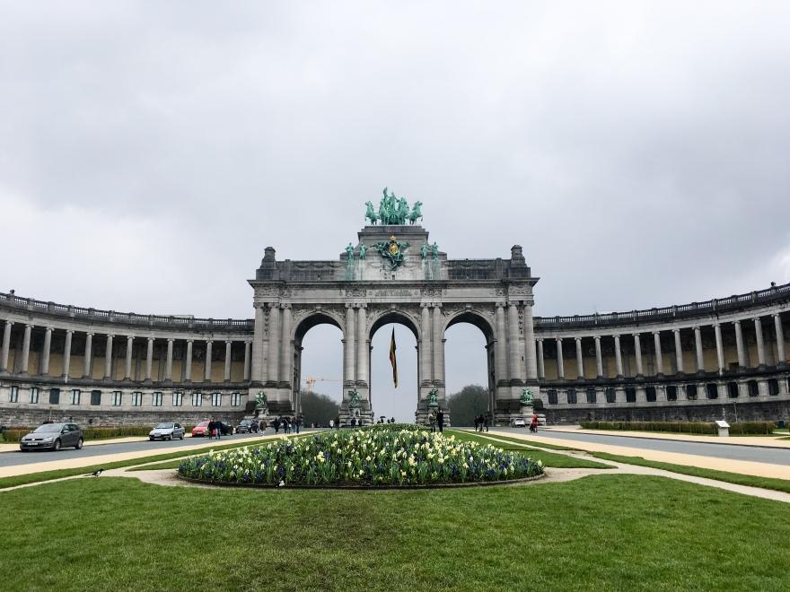 Brussels Arc de Triomphe