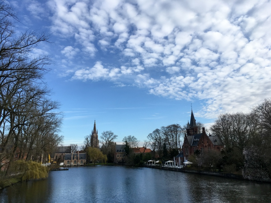 Run around Bruges
