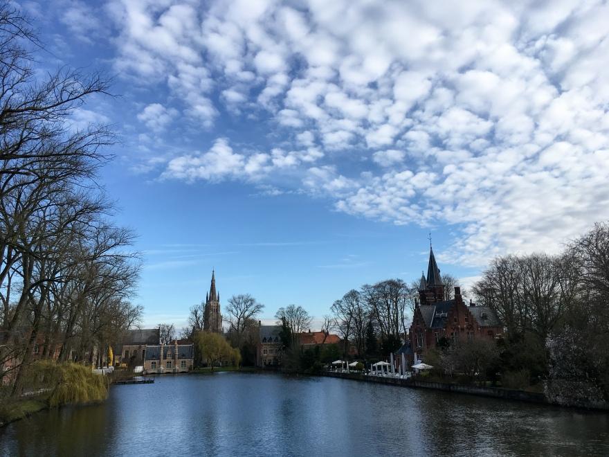 Run around Bruges