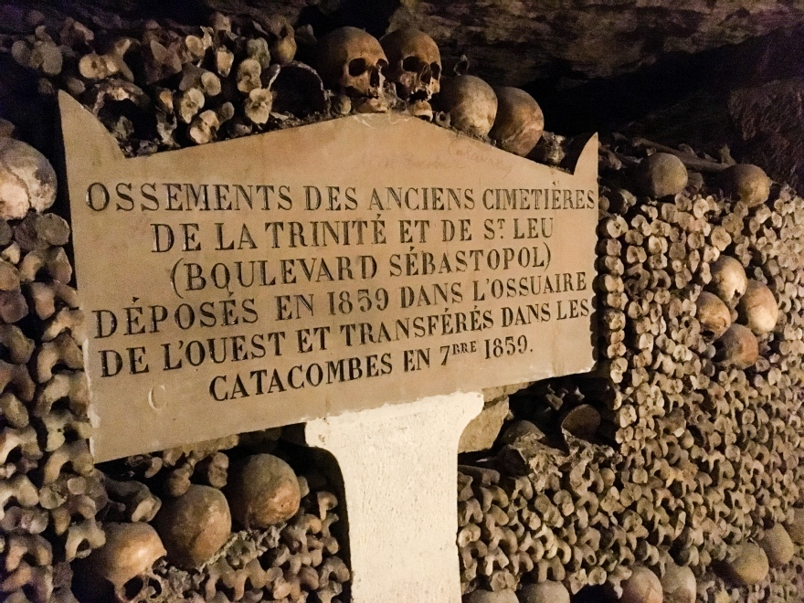 Paris Catacombs X