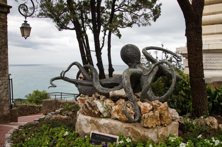 Monaco Octopus Statue